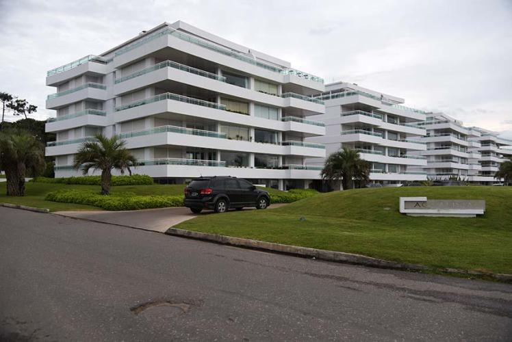 Luxurious buildings in Punta del Este
