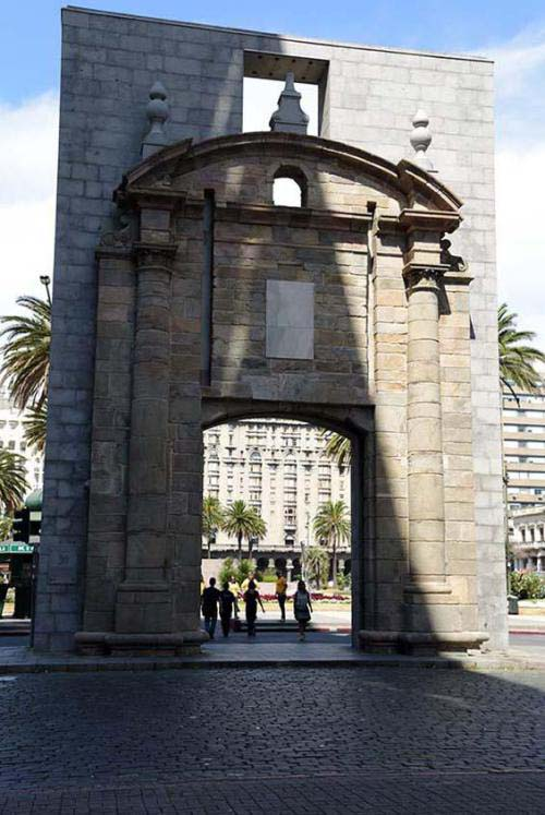 Gate to the old city
