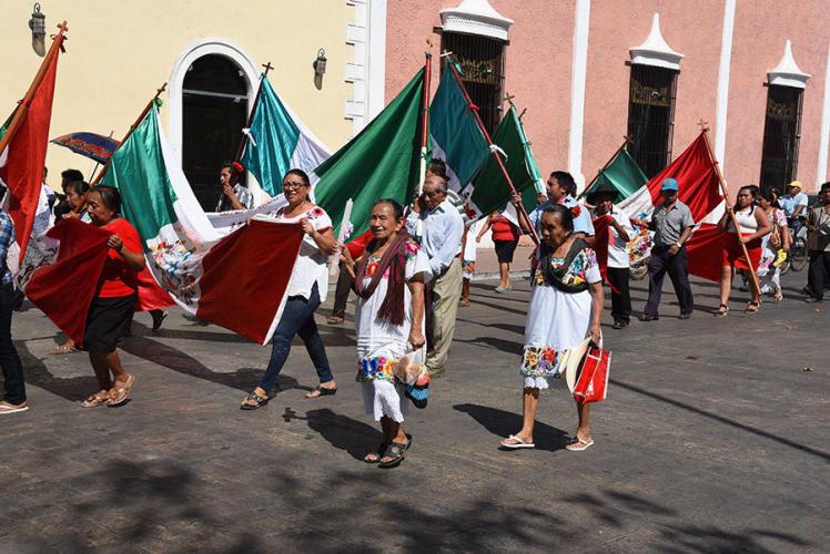Virgen Procession