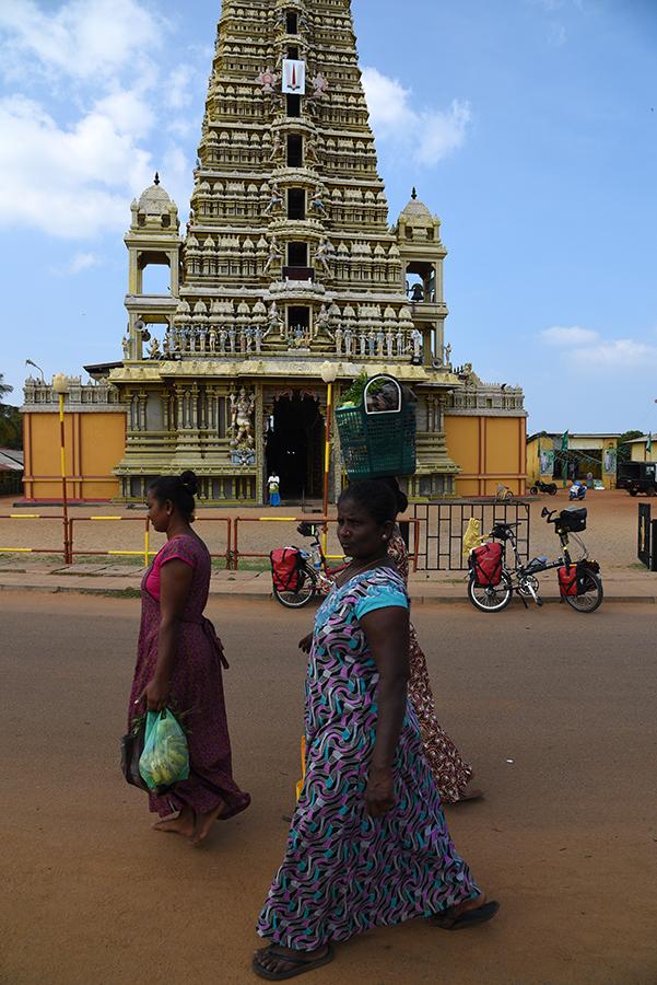 Hindu temple in Udappu