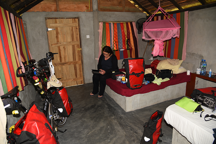 Our first room at Werala