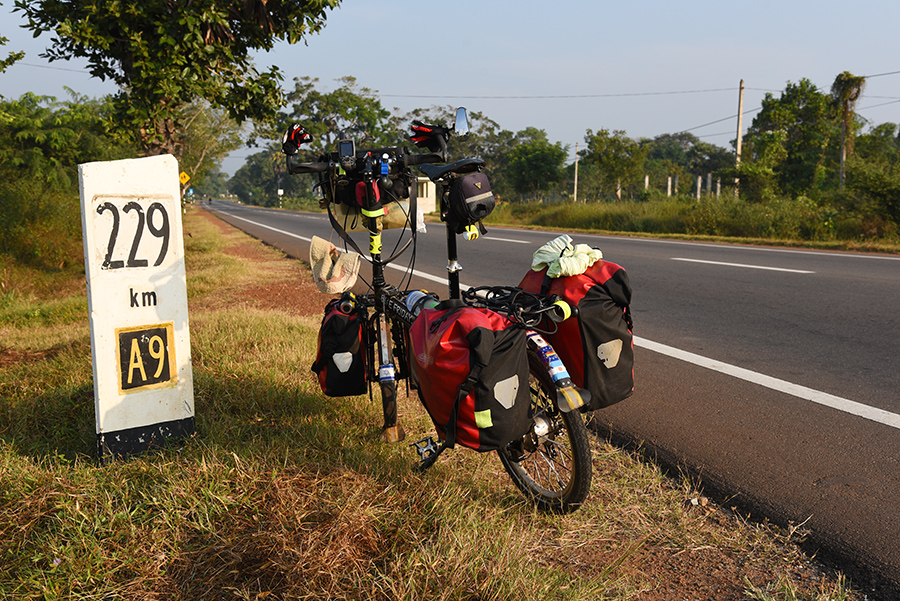 A9 the way to Jaffna