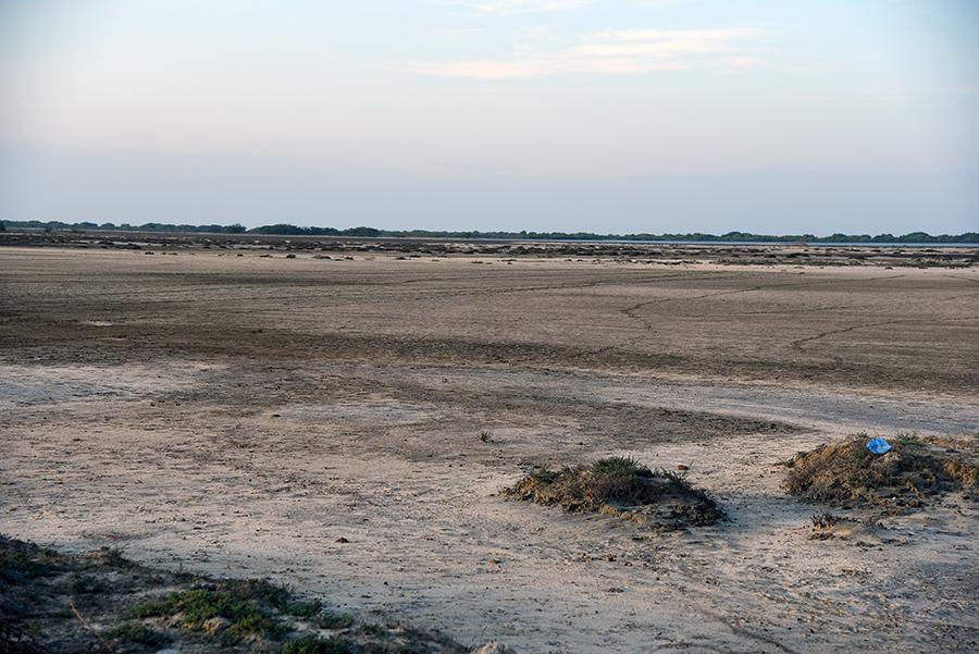Dry lagoon