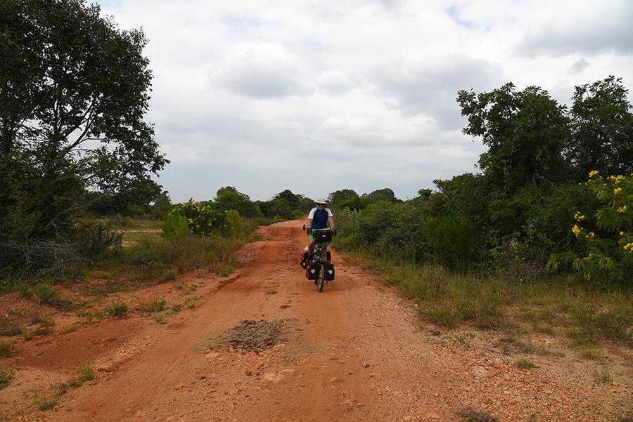 Hard terrain to cycle