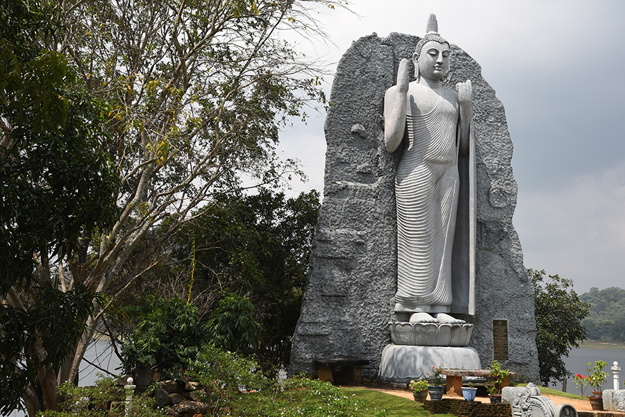 Big Buddha in Polonaruwa