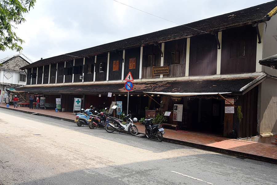 Typical Luang buildings