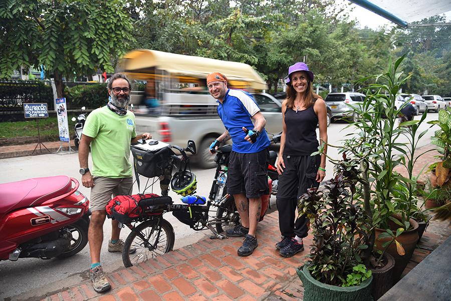 Ready to leave Luang Prabang