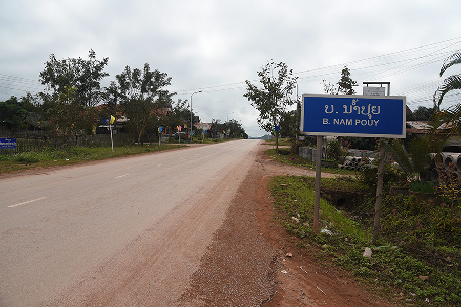 Nam Pouy village