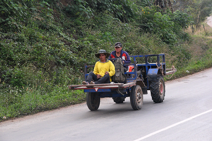 Typical farmer vehicle