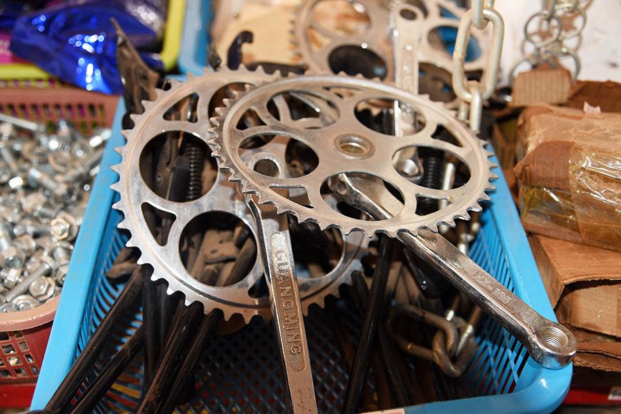 Bike crank