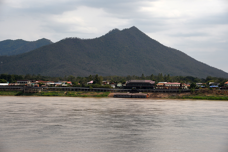 Thailand view from Laos