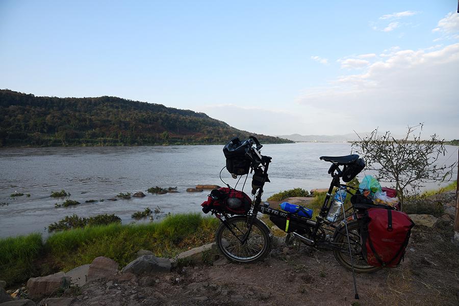 Break by the Mekong