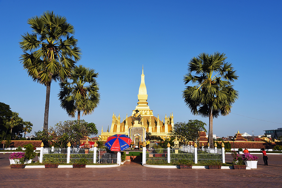 Around the Great Stupa