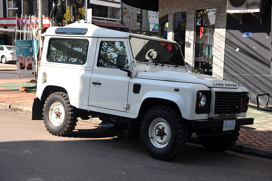 The second Landy I saw in laos so far