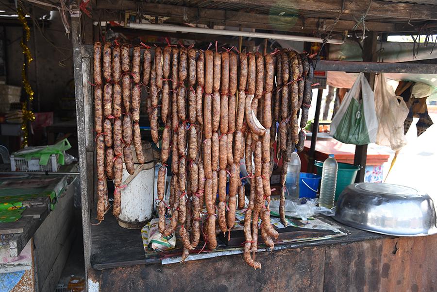 Some sausage