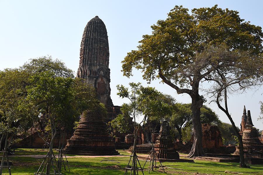 Temple in AyutthayaTemple in Ayutthaya