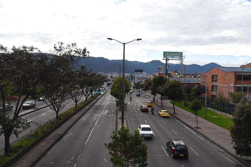 Highway in Bogota