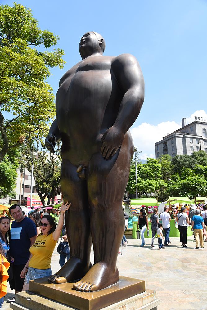 Botero statue
