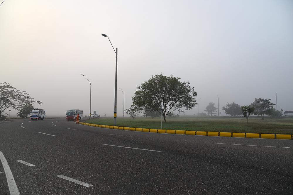 A lot of fog