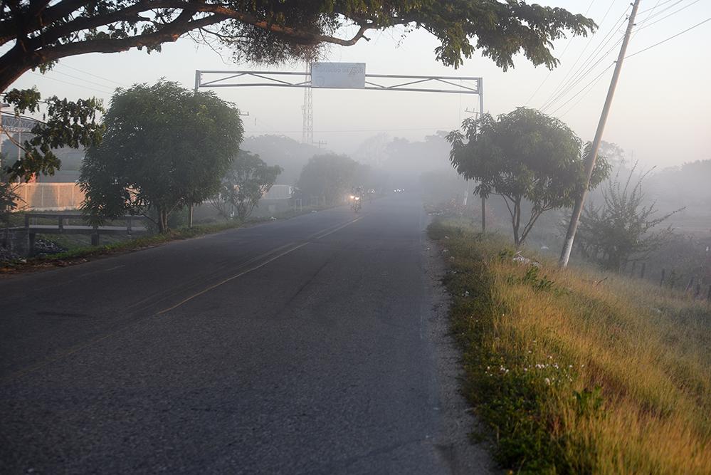 Very fogy