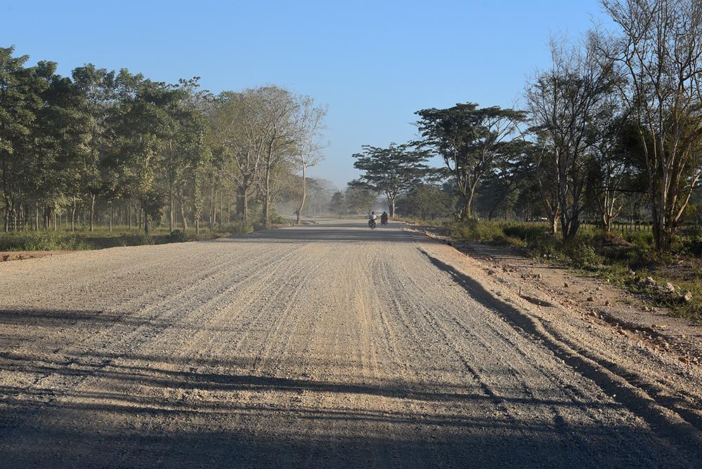 Dirty dusty road