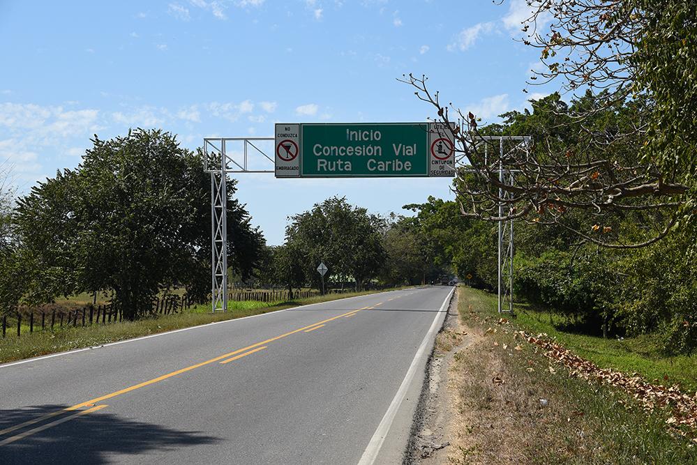 Caribe road