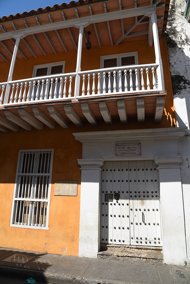 Bolivar first house