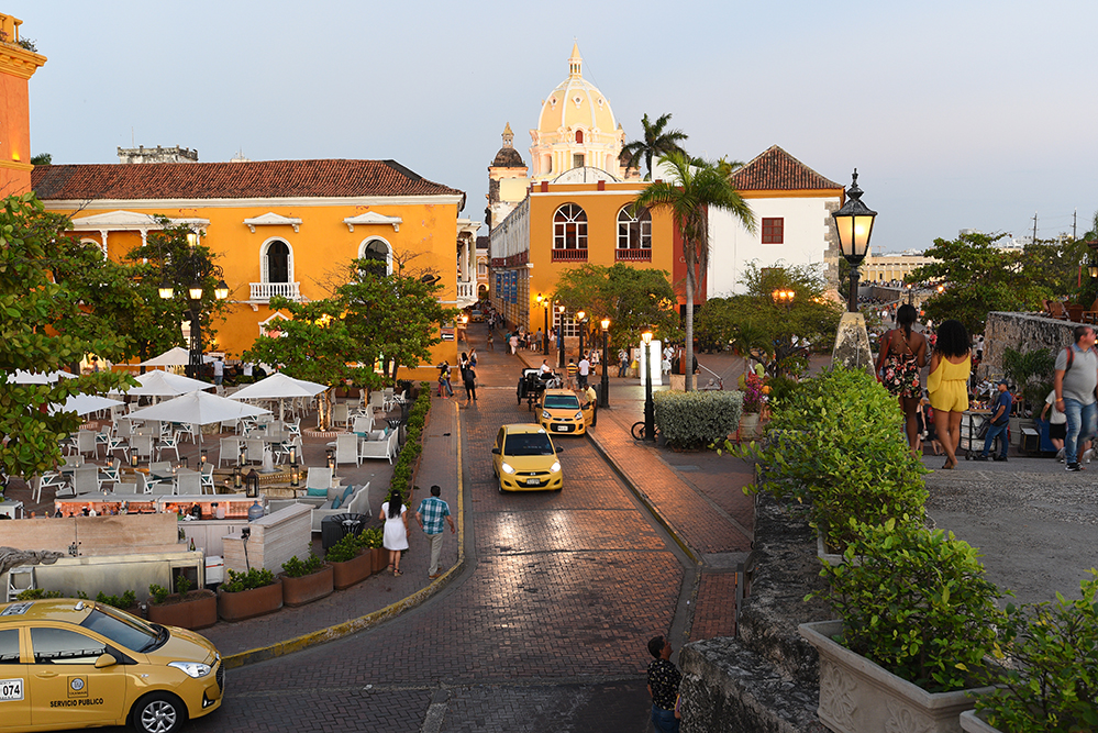 Historical center Cartagena