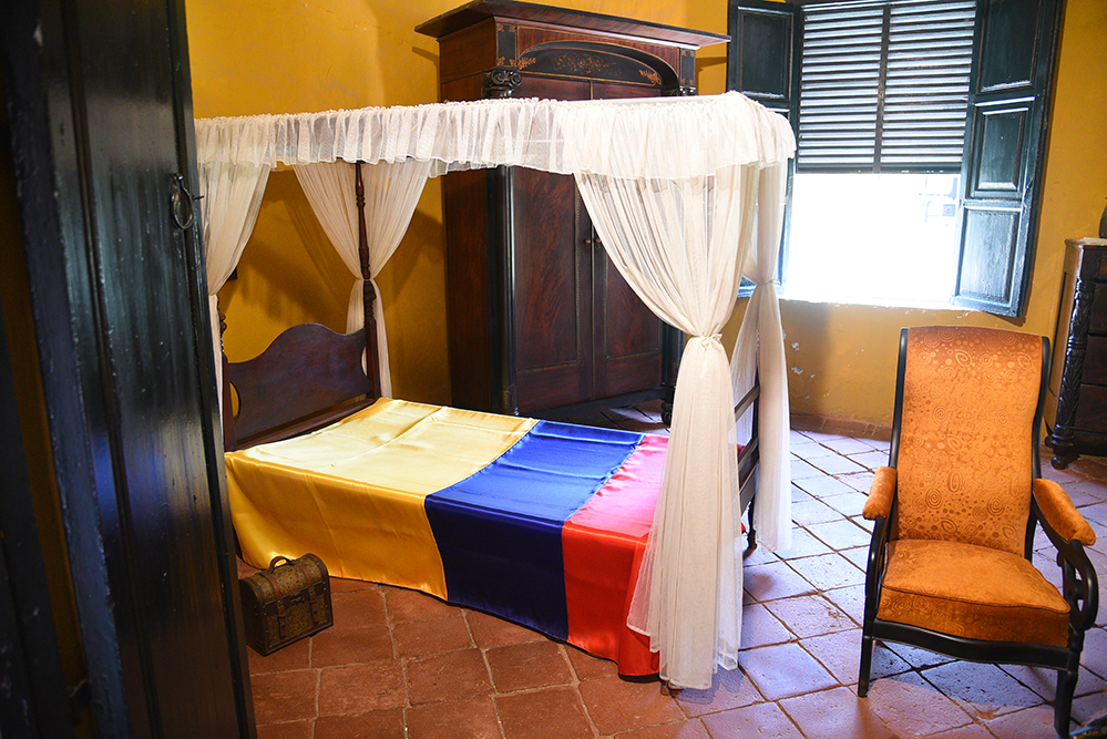 Simon Bolivar bedroom