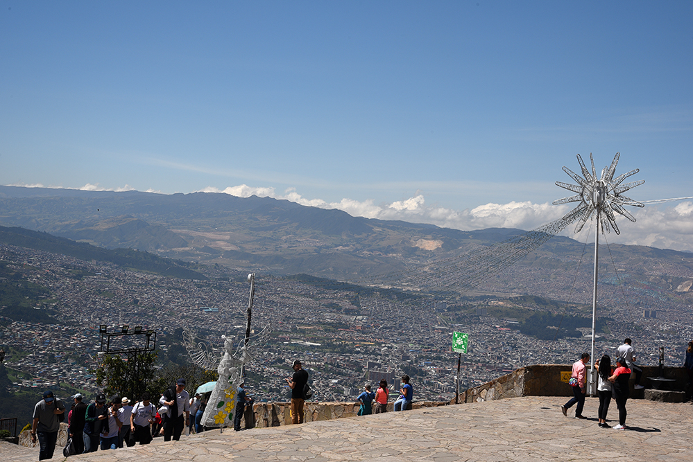 Top of Monserrate