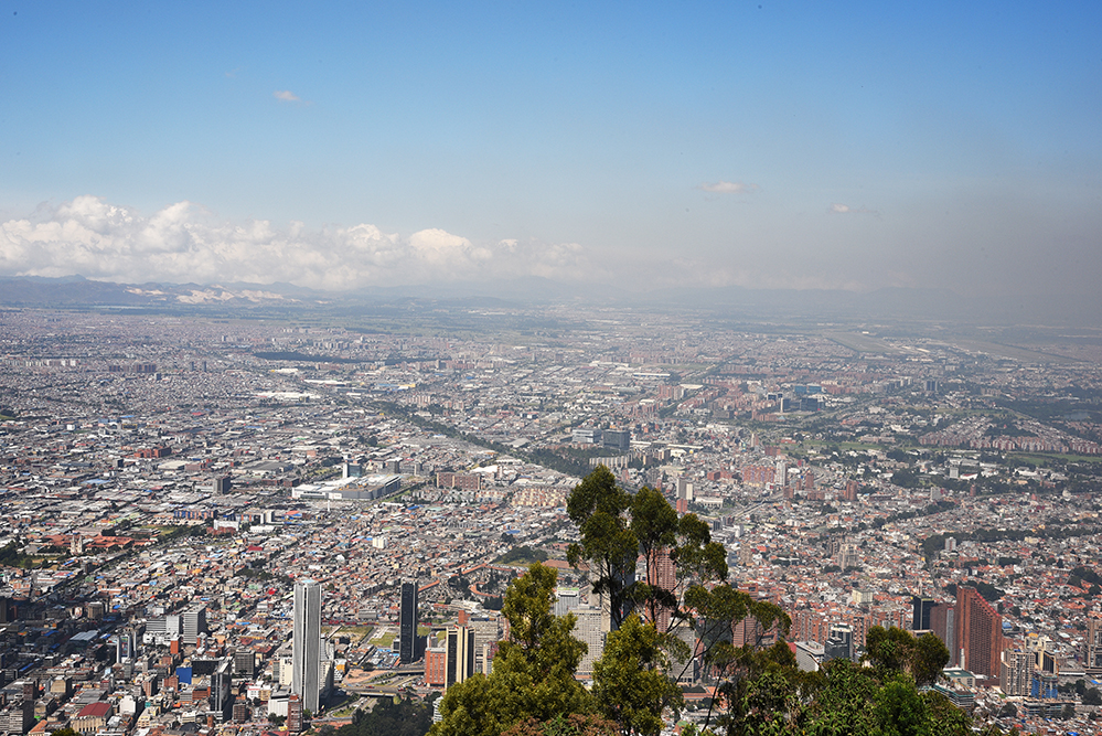 View from Monserrate
